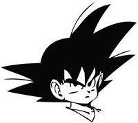 Goku, Dragon Ball Z - Die Cut Vinyl Sticker Decal