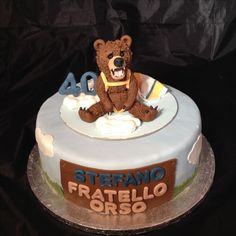 torta orso grizzly