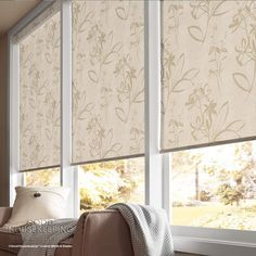 Good Housekeeping Roller Shades: Good Housekeeping Roller Shades combine easy operation with beautiful colors and patterns ranging from sheer to complete privacy. You can capture your own style with our many proven lift options including the safety and ease of operation of a cordless Good Housekeeping Roller Shade. If you need to maintain your view while keeping the heat and the glare out, the Solarscreen 5%, Deco and Texture Screen fabric collections reduce sun glare and block UV rays.