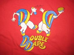 1980's kid's Double Dare tshirt medium or by blackmarketpop, $15.00