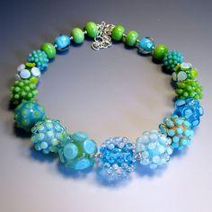 blue caterpillar by Lori