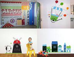 Vinilos decorativos infantiles XL