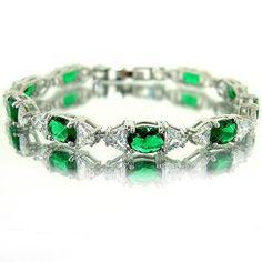 premier designs jewelry emerald green bracelet