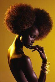 Super Afro Puffs via Kynx hair care