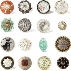 A quick swap of a door, drawer, or closet knob will add so much character to your home!