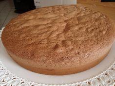 La buona cucina di Katty: Pan di Spagna al cioccolato ...2° versione:base della torta gianduia