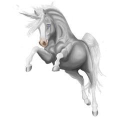 Forgetting My Hope, Unicorn Brumby Dun - Howrse Pegasus, Magical Creatures, Beautiful Creatures, Fantasy World, Art Techniques, Unicorns, Emoji, Fairies, Mystic