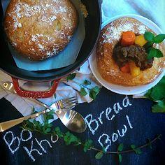 Bread bowl beef stew. Banh mi bo kho. I new take on vietnamese beef stew.