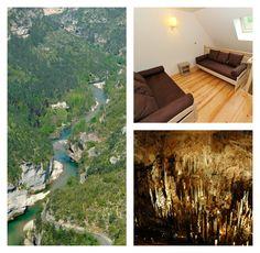 Profitez d'un séjour à l'Hôtel Les 2 Rives*** pour partir à la découverte des Gorges du Tarn et de leurs paysages préservés et uniques. Vos yeux seront ébahis.   #Les2rives #Sejourlozere #Paysages #Gorgesdutarn #Tourismefrance