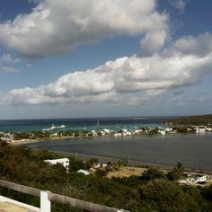 View from Ambia in Anguilla