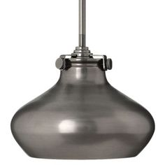 Buy the Hinkley Lighting Antique Nickel Direct. Shop for the Hinkley Lighting Antique Nickel 1 Light Indoor Mini Pendant with Metal Shade from the Congress Collection and save. Semi Flush Ceiling Lights, Flush Mount Lighting, Wall Sconce Lighting, Wall Lights, Hallway Lighting, Indoor Wall Sconces, Bathroom Sconces, Light In, Hinkley Lighting