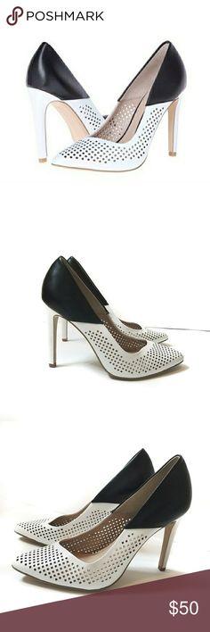 French Connection Heels | French connection heels, French connection shoes  and Black leather