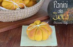 Panini alla Zucca,ricetta e tutorial