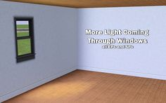 Blyss@MTS - More Light Coming Through Windows #Sims3