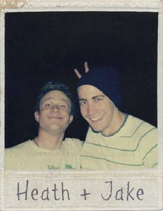 Heath Ledger and Jake Gyllenhaal. Repin & Like. Listen to Noelito Flow Noel…
