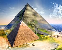 Bio-Pyramid turns Egypt's ancient pyramids into a gigantic desertification-fighting skyscraper