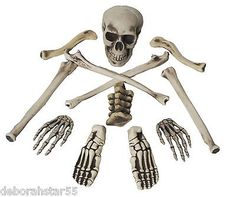 bag of bones halloween #zombie skeleton #pirate costume #table decoration prop s,  View more on the LINK: http://www.zeppy.io/product/gb/2/351486925689/