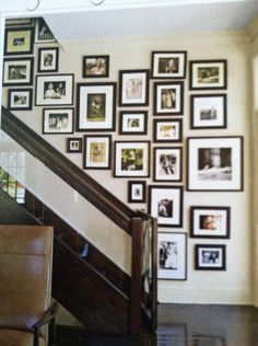 Gallery wall. All vintage pics