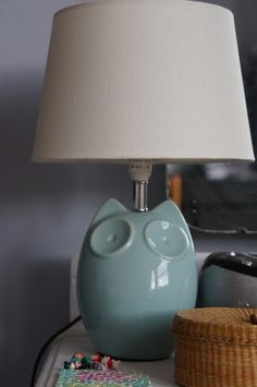 Why 8 year old bedroom makeovers need to break the rules. Love this owl lamp from WayfairUK