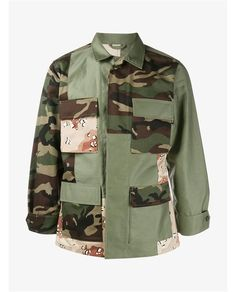 SOPHNET Mixed Camo Jacket