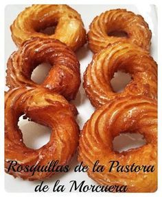 Secretos de Pastelero: Rosquillas de la Pastora de La Morcuera