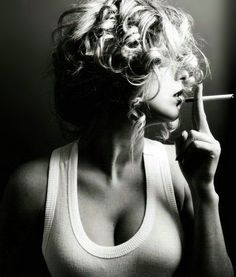 As repulsive as smoking is, it'd be great for a photoshoot!