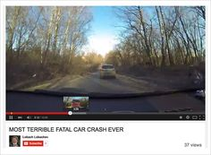 Ingenious 'Fatal Car Crash' Video on YouTube Shows an Accident Only If You Fast-Forward | Adweek