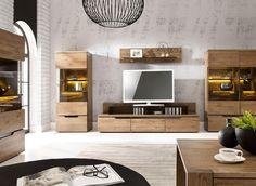 Meuble TV en chêne 3 portes MILA - Maison Facile : www.maison-facile.com