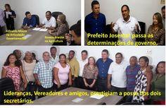 EDGAR RIBEIRO: PREFEITO JOSEMAR REFORÇA A ARTICULAÇÃO POLÍTICA E ...