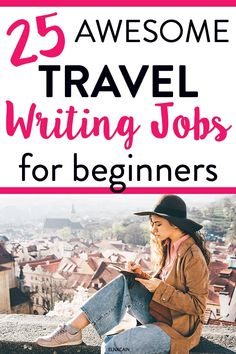 Travel writing jobs for new freelance writers. Want to travel or do you enjoy travelling? Learn how to become a travel writer and gain some freelance writing jobs. Online Writing Jobs, Freelance Writing Jobs, Travel Jobs, Work Travel, Budget Travel, Grant Writing, Writing Tips, Creative Jobs, Unique Jobs