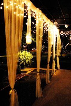Elegant garden party