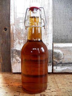 Homemade Ginger Liqueur Recipe