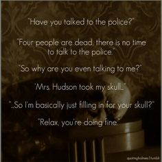 Sherlock BBC Quotes |  I love this part!