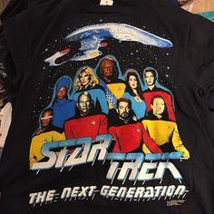 "62 Likes, 6 Comments - @juicy.d.tees on Instagram: ""New Trek tees hitting SOHO #startreknextgeneration #picard#worf#startrek#scifi#90s #90sfashion…"""