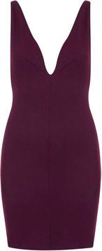**Deep V Textured Bodycon Dress by Oh My Love on shopstyle.co.uk