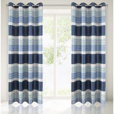 Tmavo modre hotove zavesy do izby Curtains, Shower, Home Decor, Insulated Curtains, Homemade Home Decor, Blinds, Rain Shower Heads, Draping, Decoration Home