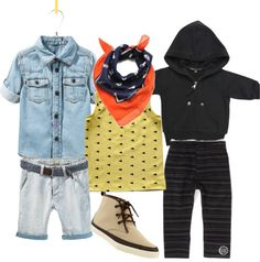 """All Denim & Funky"" by boysbecool on Polyvore"