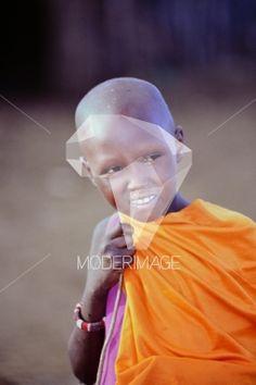 Criança da tribo Masai/Kid from the Masai tribe by Filipe Condado – Moderimage