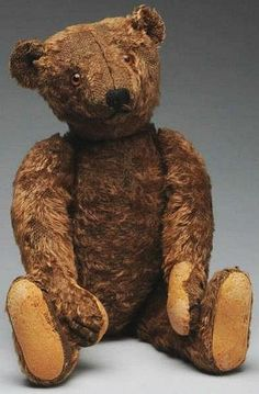 My Grandma had a bear just like this. He was her brothers Bear from the early 1900s