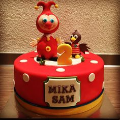 """""""Jokie en Jet... #efteling #jokieenjet #verjaardagstaart #jokie"""""""