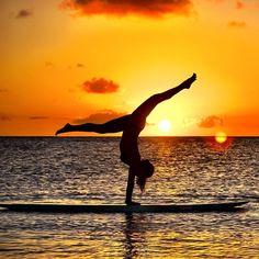 SUP... yoga...