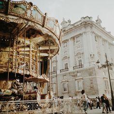 brown carousel beside building photo – Free Person Image on Unsplash Menorca, Night Photos, Hd Photos, Woman Riding Horse, Close Up Photography, Belem, Prado, London England, Old Town