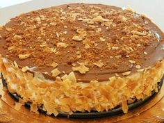 עוגת לוטוס גבינה שוקולד לבן