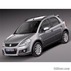 Suzuki SX4 2010 - 3D Model
