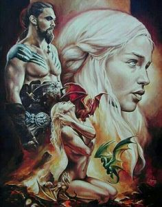 Khalessi and drogo