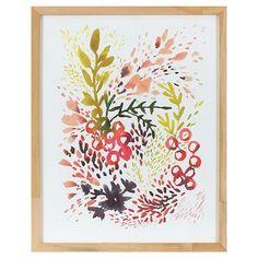 Kelly Ventura Framed Flourish Flowers Art (16
