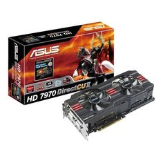 19 best Electronics   Graphics Cards images on Pinterest   Computer     ASUS DirectCU II 28nm Graphics Card HD7970 DC2 3GD5 by Asus   549 85  The  newly arrived ASUS HD7970 DC2 3GD5 ships with efficient and powerful 28nm  GPUs and