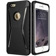 Case for iPhone 6 6 Plus, ESR Defender Armor Tri-Layer soft TPU Rugged Heavy Duty Shock Absorbing Case for iPhone Plus 6 Plus Iphone 6, Iphone Cases, Apple Iphone, Thing 1, Layers Design, Good Grips, 6s Plus, Screen Protector, Cell Phone Accessories