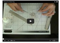 Free Jewelry Making Tutorial: How to Salvage and Reuse Hardened Precious Metal Clay