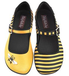 Honey Women's Mary Jane Flat